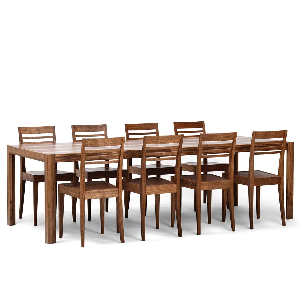 Tisch Rainer II mit Stuhl