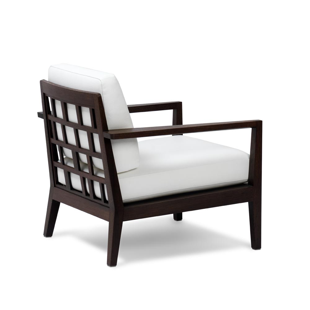 Stuhl Easy Chair Weiss