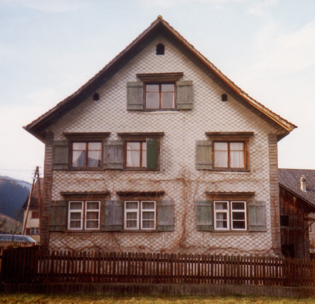 Haus Fässler vorher