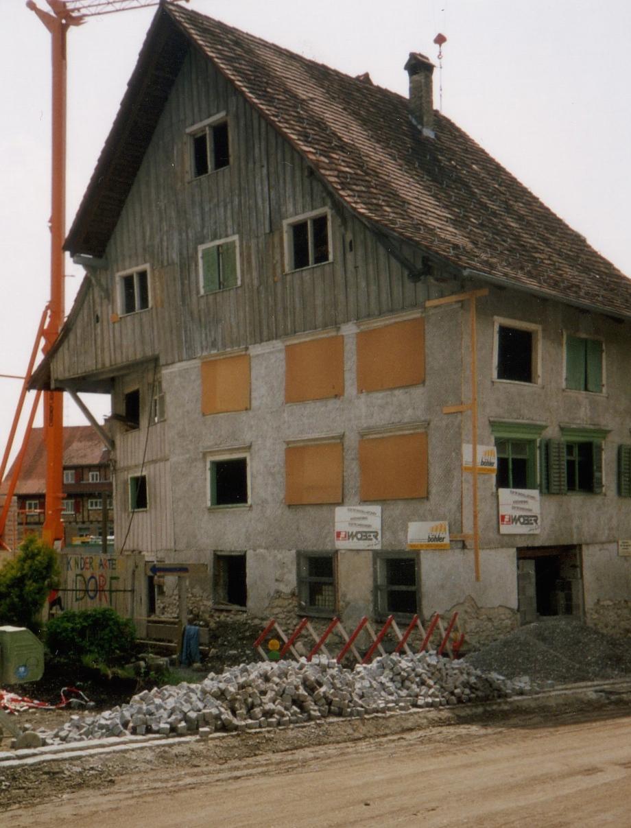 Kirchberghus vorher