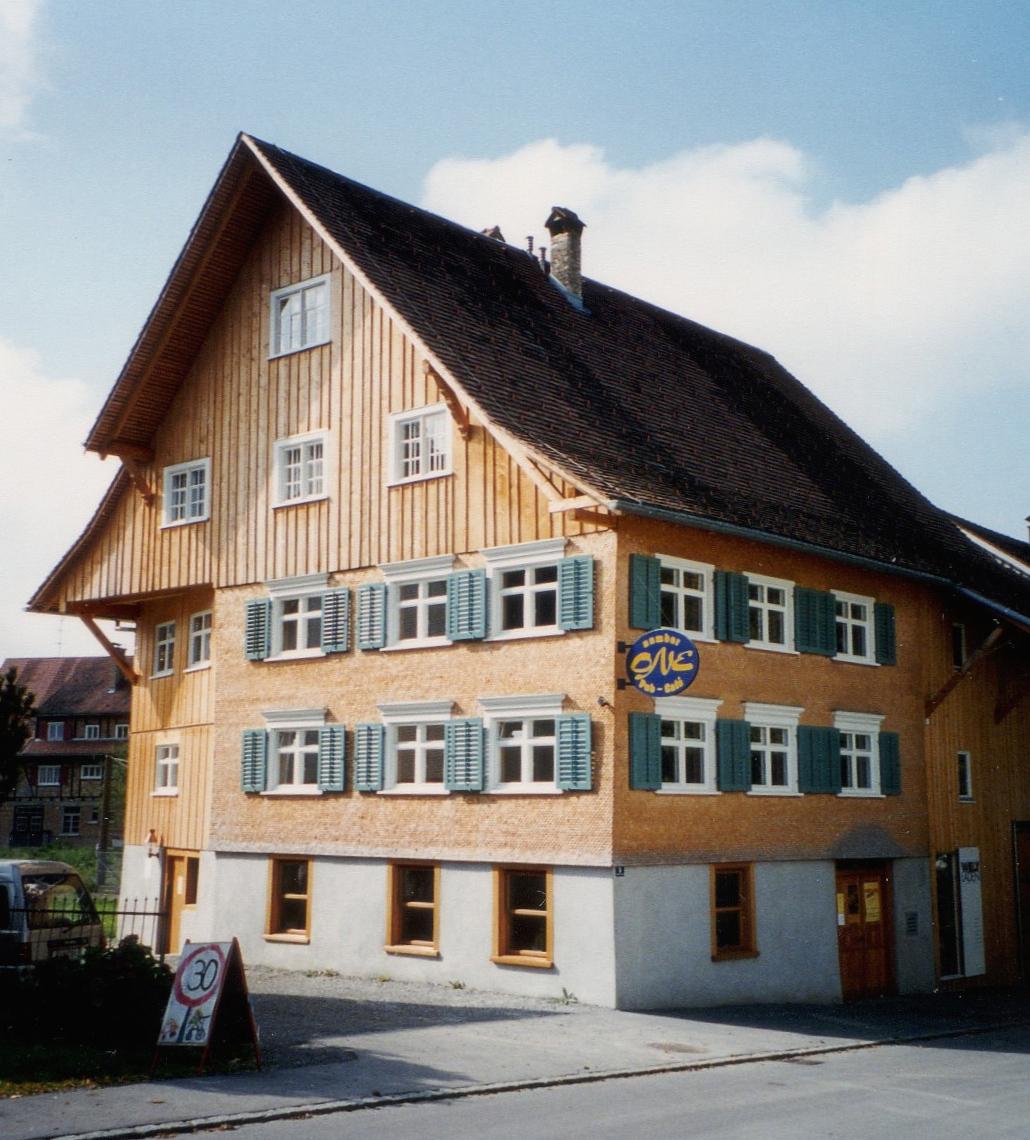 Kirchberghus nachher