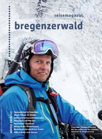 Reisemagazin Bregenzerwald 2016